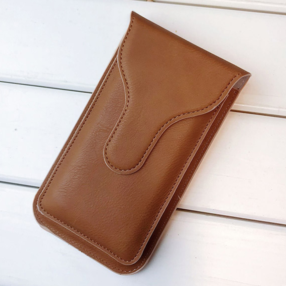 Wallet Belt Waist Bag Hook Loop Fashion Protective Cases Vertical Artificial Leather Pouch Phone Storage