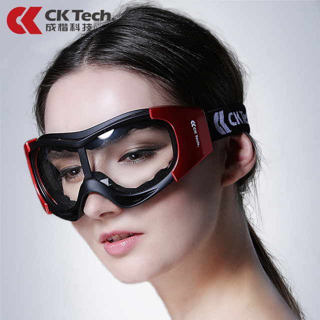 CK Tech. Windproof Safety Goggles Protective Eyeglasses Sand proof Anti fog anti impact Cycling Industrial Labor Work Glasses