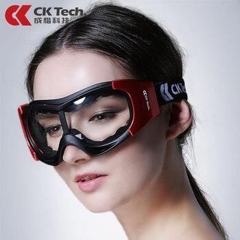 CK Tech. winddicht Sicherheit Schutzbrille Brillen Sand proof Anti-fog anti-auswirkungen Radfahren Industrielle Arbeit Arbeit Gläser