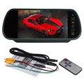 7 Дюймов Цветной TFT LCD Автомобиль Зеркало Заднего вида Монитор Авто Автомобиль Парковка Монитор Заднего Вида Для Камеры Заднего Вида
