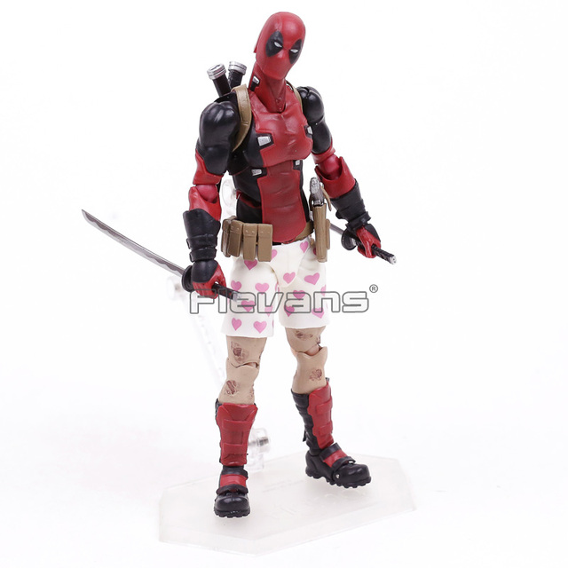 Marvel DEADPOOL Figma EX-042 Action Collectible Figure 15cm