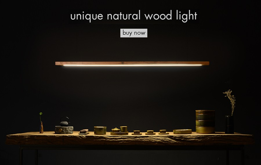 long wood lamp