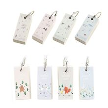 Cramp Ring Lovely Mini Notebook School Vocabulary Writing Reciting Pocket Book Note book