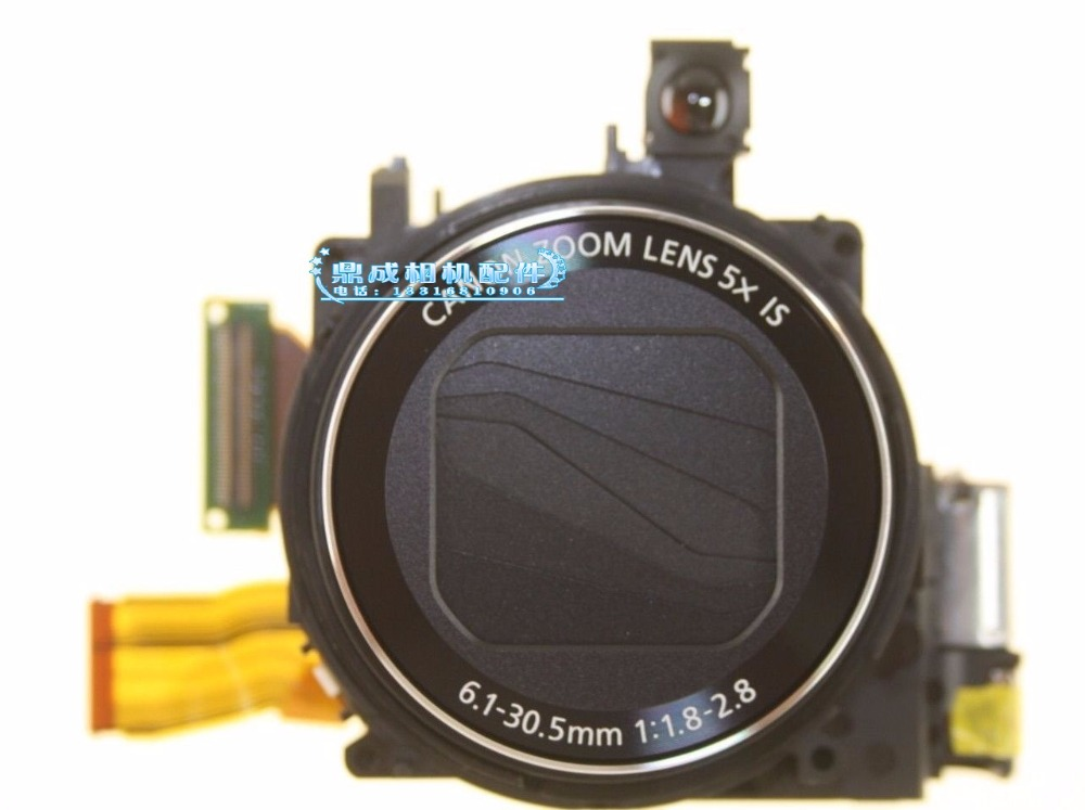 Free Shipping !95%new  Digital Camera Accessories for Canon G15 lens+CCD, zoom lens original digital camera zoom lens accessories for canon ixus130 sd1400 ixy400 is pc1472 ixus 130 with ccd black