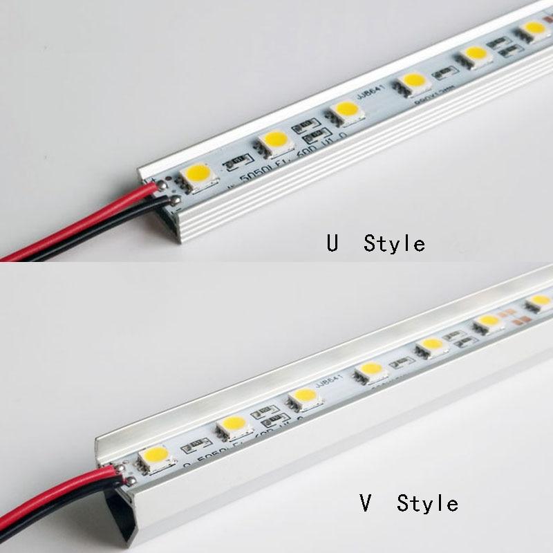 50 cm 36 SMD 5050 Harde Stijve Led Strip Bar Licht 12 V DC Voor Kast - LED-Verlichting