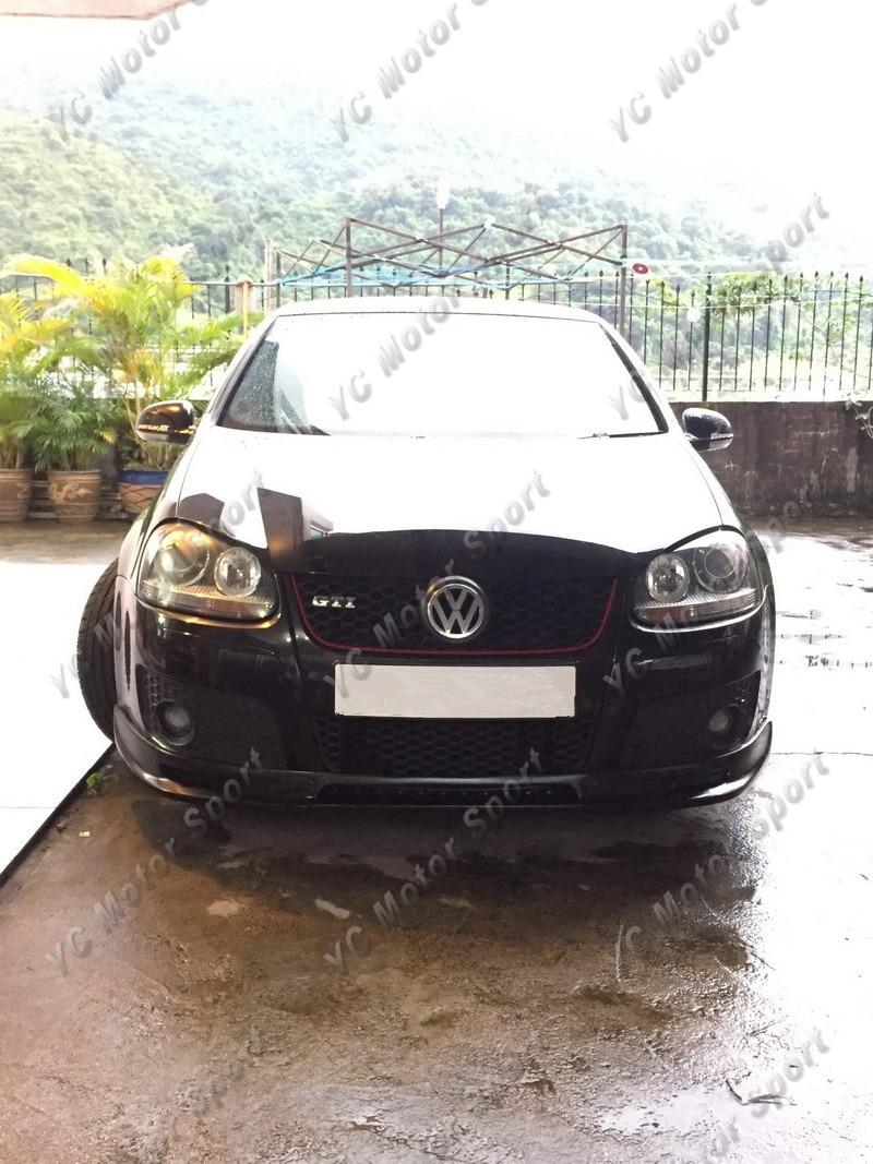 2004-2008 VW Golf MK5 GTI ABT Style Front Lip FRP (101)