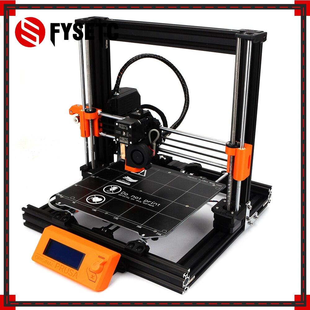 1 ensemble complet Prusa i3 MK3 bricolage ours mise à niveau 2040 profils de V-SLOT imprimante 3D Kit complet Einsy Rambo conseil lit chauffant moteurs Kit
