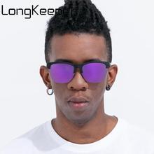 New Polarized Sunglasses Men Classic Brand Semi Rimless Sun Glasses Women Mirror Lens Driving Sport Goggle Oculos De Sol UV400 цена и фото