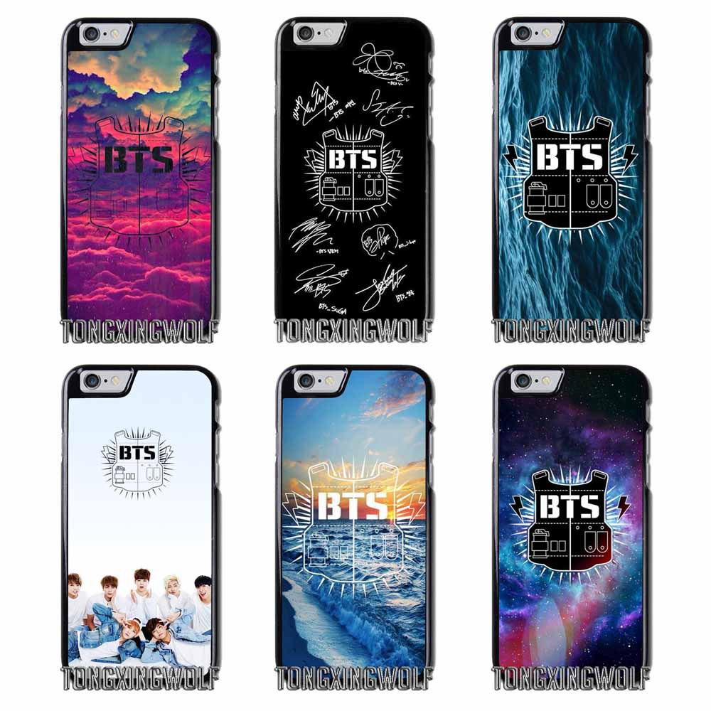 Korea Bts Bangtan Boys Logo Cover Case For Samsung Galaxy J1 Mini J2 Tempered Glass 2016 Kaca Pelindung Layar J3 J5 J7 2015 2017 Max Pro Grand Neo Core Prime Alpha In Half Wrapped From