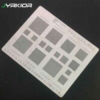 Jyrkior 0.12 MM Meerdere Gaten 0.3 0.35 0.4 0.5 BGA Reballing Stencil Template Voor Mobiele Telefoon BGA Chip Reparatie