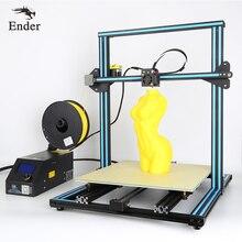 2017 двойной Z стержень Винты CR-10 3D принтер Kit Prusa I3, нити мониторинга сигнализации печати больших 500*500*500 мм 3D принтер creality 3D