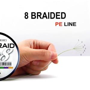 Image 3 - NEW Strong PE 8 Braided Fishing Line for Sea Fishing 8 Strands 30lb 40lb 60lb 80lb 100LB  300M 100% Original JAPAN fishing line