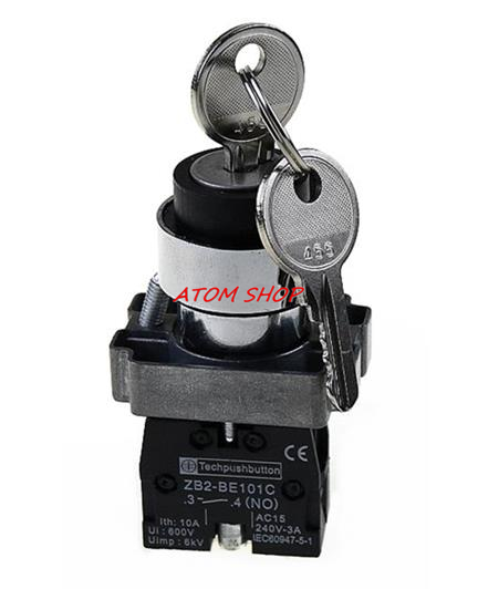 21C 1 N/O 2 Positions Maintained Key Select Selector Switch XB2-BG21