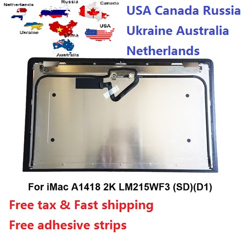 "Original New LM215MF3SDD1 D2 D3 D4 D5 LCD LED Display Screen For IMac 21.5"" A1418 2K LCD Glass Display 2012 2013 2014 2015(China)"