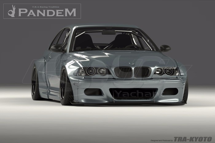 1998-2005 BMW E46 M3 Coupe GReddy Pandem Style Body Kit FRP (9)