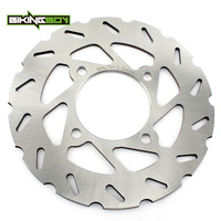 BIKINGBOY ATV 178mm Front Brake Disc Disk Rotor For POLARIS Outlaw 450 S MXR Outlaw 500 Predator 500 TLD Outlaw 525 S IRS