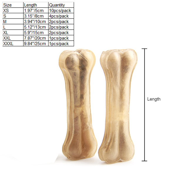 Cowhide Molar Bone 8