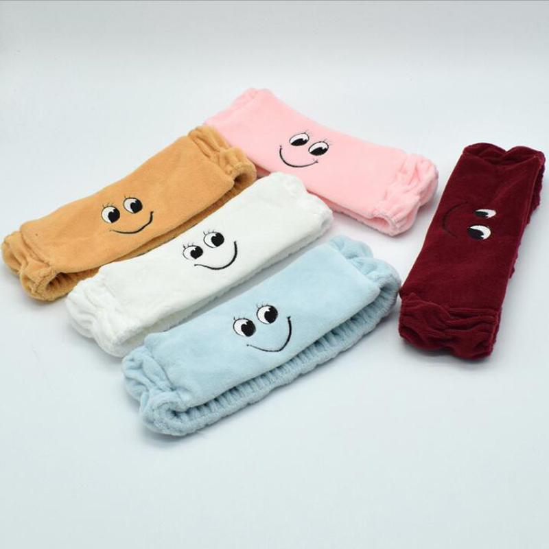 1 Piece Comfortable Cute Smile Face Spa Bath Shower Make Up Wash Face Cosmetic Headband Hair Bands