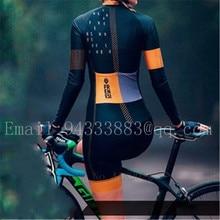 2019 FRENESI couple wear men cycling skinsuit high quality women long sleeve swimwear skating triathlon suit bicicleta maillot