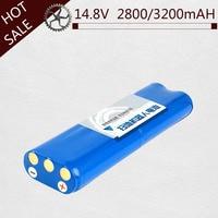High quility 14.8V 2800/3200mAh 18650 Li ion Battery side brush for Philips Robotics Vacuum cleaner FC8820 FC8810 Vacuum cleaner