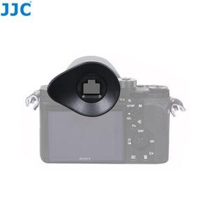Image 1 - JJC FDA EP16 עיינית עבור Sony A7RIV A7RIII A7III A7II A7SII A7R A7S A7 A58 A99II A9II DSLR עינית מצלמה אבזרים עינית