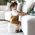 Креативный простой утолщенный детский стул  многофункциональный современный домашний портативный детский табурет