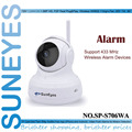 SunEyes SP-S706WA 720P HD IP Camera Wifi Wireless Pan/Tilt Two Way Audio P2P Plug Play IR Night Support 433HZ Alarm Devices