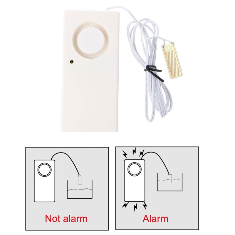 Wireless Water Overflow Leakage Alarm Sensor Detector Home Security System sd-1