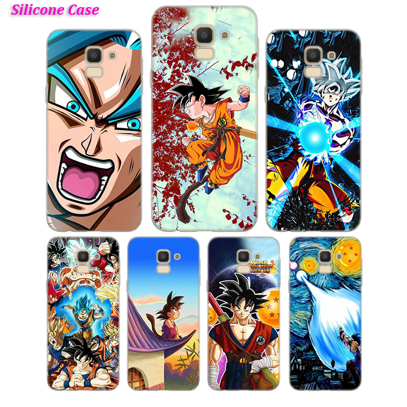 Cellphones & Telecommunications Silicone Phone Case Dragon Ball Super Goku For Samsung Galaxy J8 J7 J6 J5 J4 J3 Plus Prime 2018 2017 2016 Cover Beautiful In Colour Phone Bags & Cases
