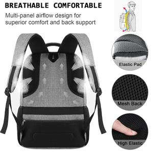 Image 4 - Laptop Backpack 15.6 Unisex Fits Inch Business Travel Anti Theft Slim Durable Backpack with USB Charging Port Water School Bag