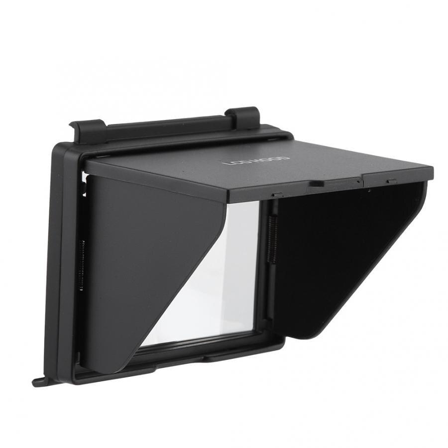 Nowy ochrona ekranu lcd kamery cofania parasolka daszek parasol przeciwsłoneczny kaptur osłona na nikona D500 parasol przeciwsłoneczny osłona maski