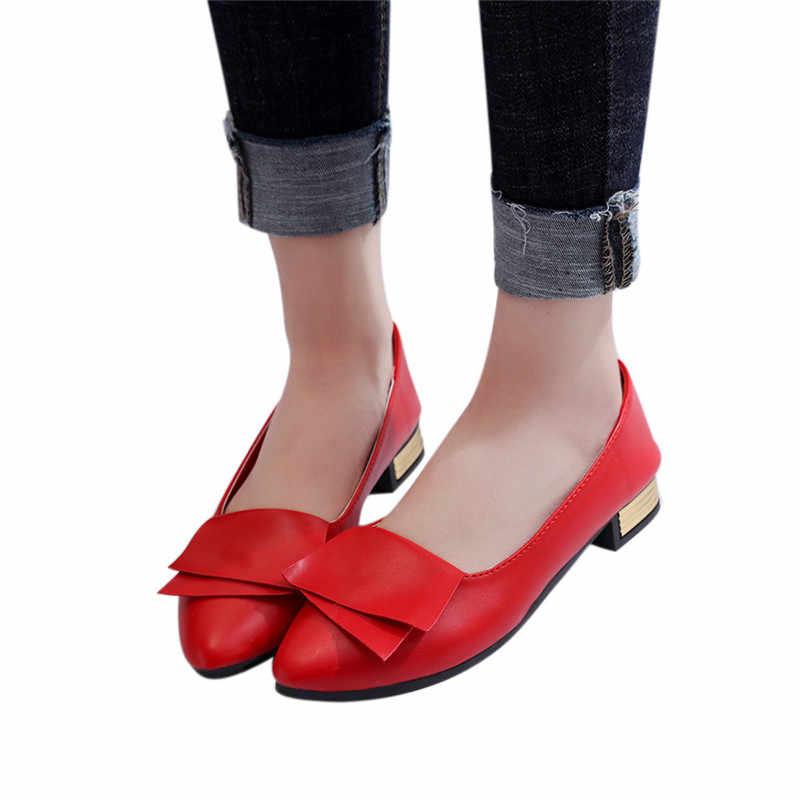 JAYCOSIN 2019 夏の靴サンダル女性オフィス靴の結婚式のオフィス女性が靴を指摘カジュアルスリップサンダル jun10 #4
