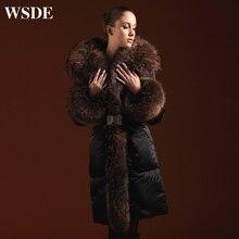 Plus size 5XL Goose Down coat 2019 Winter Jacket Women