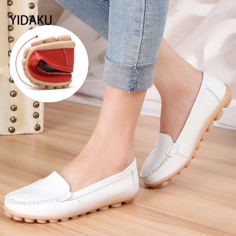 Yidaku inferiores suaves de verano de las mujeres de moda zapatos casuales de cu
