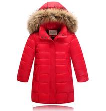 2016 children jackets girls kids outdoor jacket children warm outerwear coats Down & Parkas teenage girls winter clothing