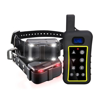 Free shipping Dog Shock Collar Rechargeable Remote Control Dog Training Collars pet e collar 2000M Range with LCD Display