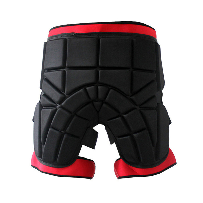 Men women Outdoor Sports Safety Black Protective Hip Padded Shorts Snowboard Skiing Skating Impact Protection #4S26 (8)