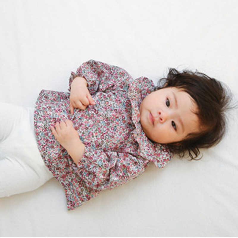 Toddler Cô Gái Đứng trẻ em Tee áo sơ mi 2018 Thương Hiệu Mùa Xuân Mùa Hè Trẻ Em áo cho Cô Gái Quần Áo Hoa In Bé outwear Công Cụ