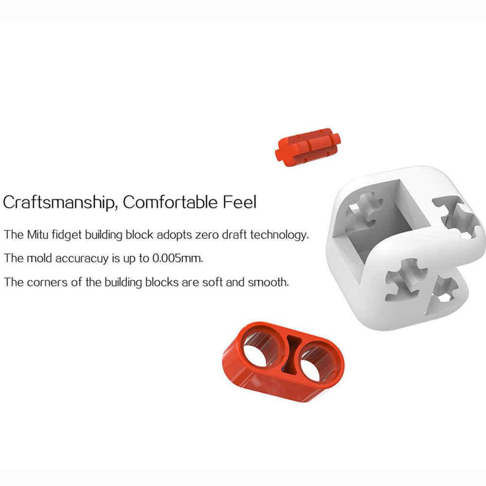 オリジナルxiaomiミトゥキューブスピナー指煉瓦インテリジェンスのおもちゃスマート指おもちゃポータブルxiaomiスマートホーム子供のためのギフト