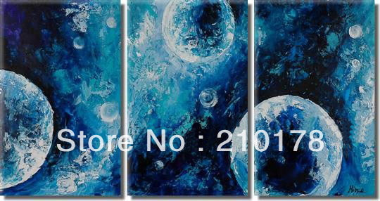 hand painted oil painting on canvas modern 100% Best Art Seascape oil painting original directly from artist XD3-215