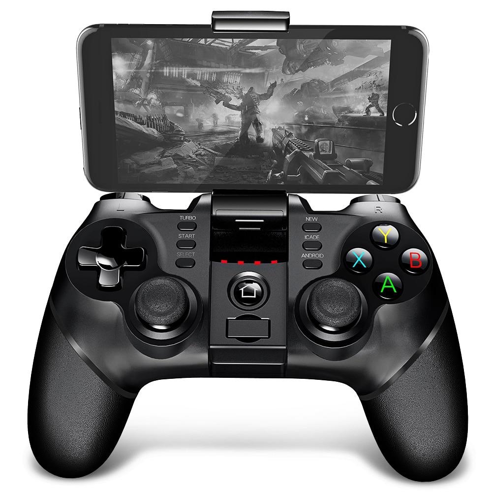 IPega PG-9076 9077 Para SmartPhone PS3 Suporte Joystick Gamepad Sem Fio Bluetooth 2.4G Android Win Game Console Jogador
