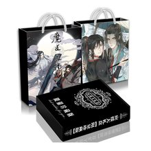 Autocollant de carte postale de luxe, ensemble de peinture, Album, dessin, livre, affiche, boîte cadeau, Anime