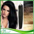 Микро-цикла Anillo Extensiones де кабельо Humano человеческих волос микро-цикла 100 шт./упак. 50 г бесплатная доставка микро петли кольца