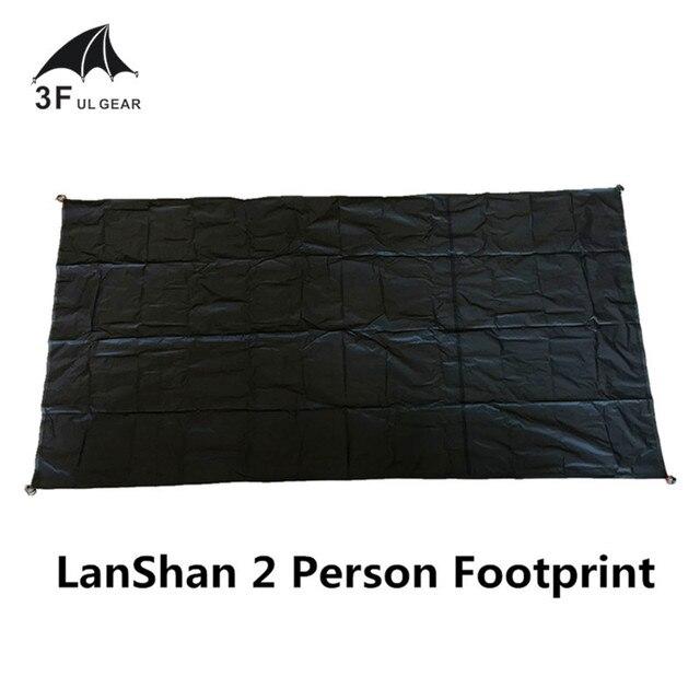 UL GEAR 3F LanShan 2, huella de tienda, 2, huella de nailon original, 210x110cm, hoja de tierra de alta calidad