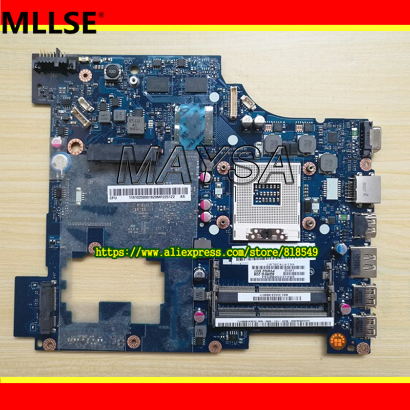 PIWG2 LA-6753P REV 1.0 System board fit for Lenovo G570 Laptop motherboard HM65 Chipset, with HDMI interface ноутбук hp 15 bs027ur 1zj93ea core i3 6006u 4gb 500gb 15 6 dvd dos black