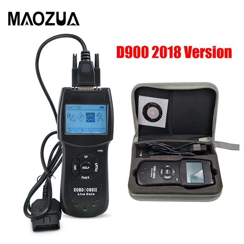 US $19 43 19% OFF|2018 Version Universal D900 OBD2 Scanner Car's Engine  D900 OBD OBD II Code Reader Diagnostic Tool for Multi Cars on  Aliexpress com |