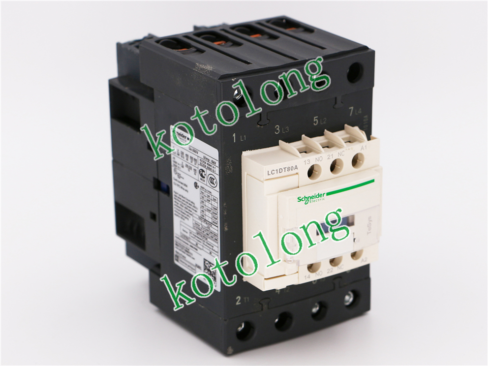 AC Contactor  LC1DT80A  LC1-DT80A LC1DT80AB7 24V LC1DT80AC7 32V LC1DT80AD7 42V  LC1DT80AE7 48V dc contactor lc1d09kd lc1 d09kd 100vdc lc1d09ld lc1 d09ld 200vdc lc1d09md lc1 d09md 220vdc lc1d09nd lc1 d09nd 60vdc