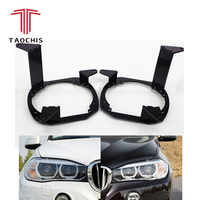 Taochis Car Styling frame adapter module set DIY Bracket Holder for BMW X5 xDrive 35i 30d 2014 Hella 3 5 Q5 Projector lens