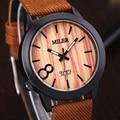 MILER Relógios de Imitação de madeira Para Homens e Mulheres Presente Top Marca Relógio de Quartzo relógio de Pulso Esporte Horas relogio masculino Relógio