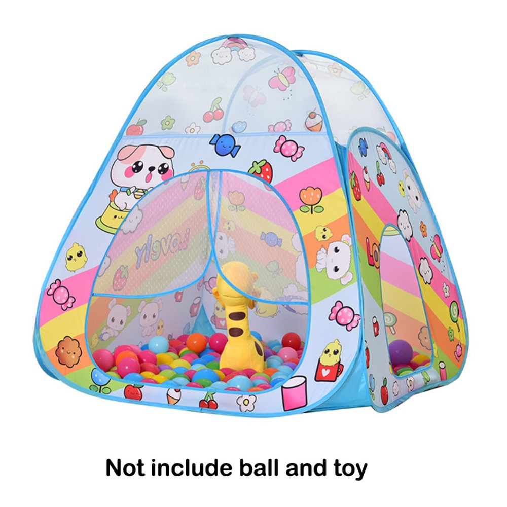 HTB1cvhiaZnrK1RjSspkq6yuvXXad 37 Styles Foldable Children's Toys Tent For Ocean Balls Kids Play Ball Pool Outdoor Game Large Tent for Kids Children Ball Pit